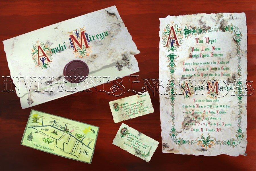 Invitación Medieval 28
