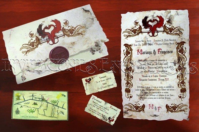 Invitación Medieval 29