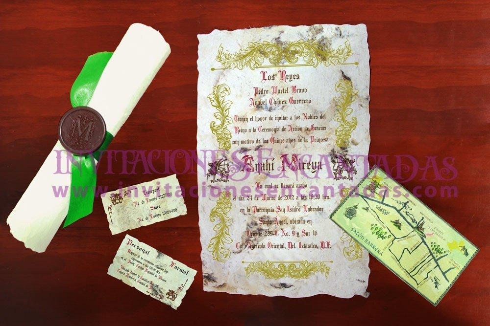 Invitación Medieval 36