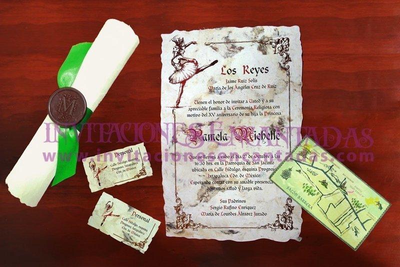 Invitación Medieval 39