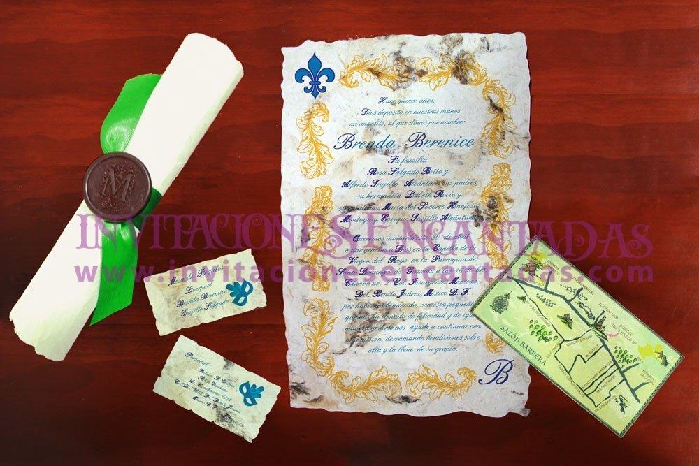 Invitación Medieval 41