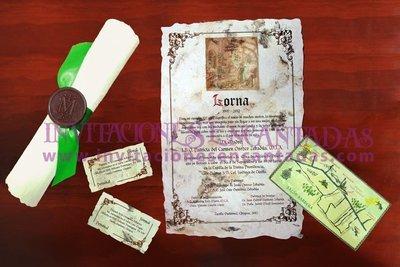 Invitación Medieval 43