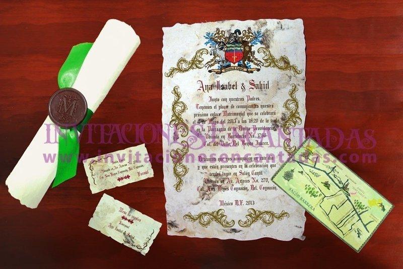 Invitación Medieval 44
