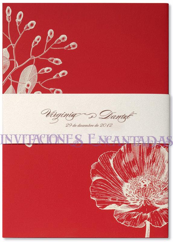 Invitación Bamboo  11