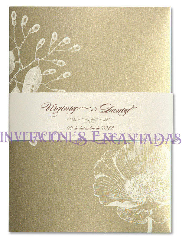 Invitación Bamboo  12