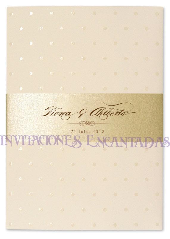 Invitación Bamboo  16