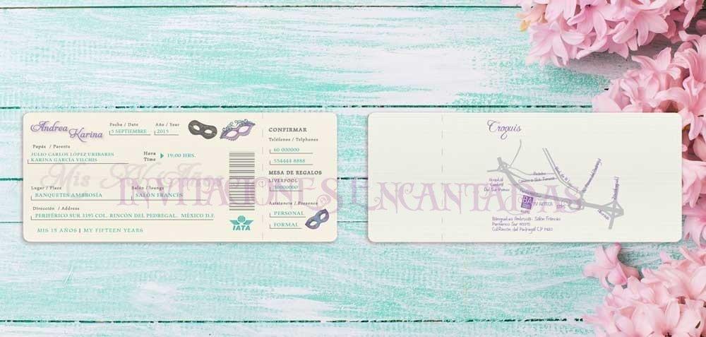 Invitación Ticket 22