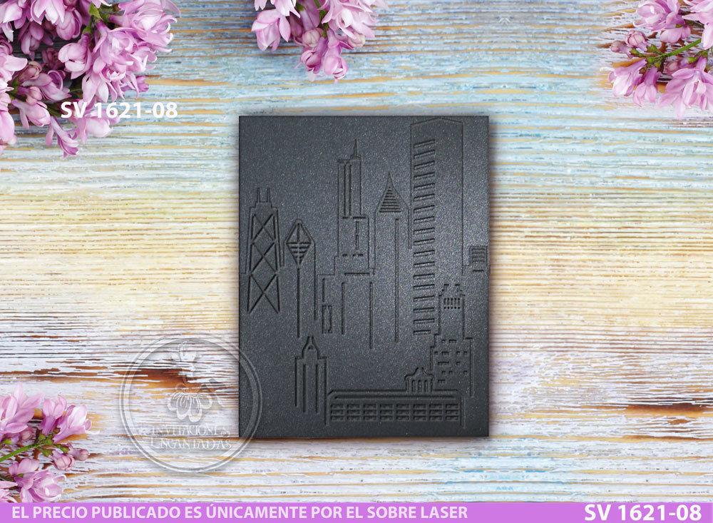 DIY Sobre de Corte Laser SV 1621-08