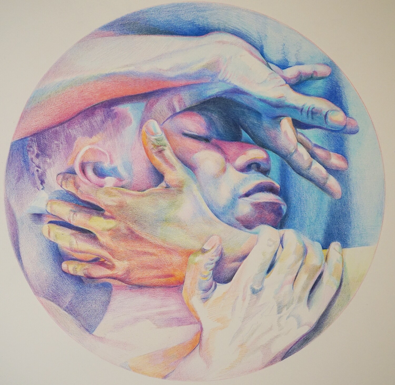 Letting Go - Color Pencil