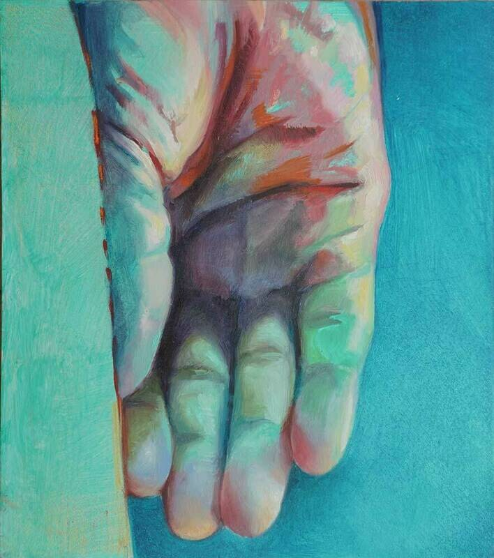 Hand #5 - Wall