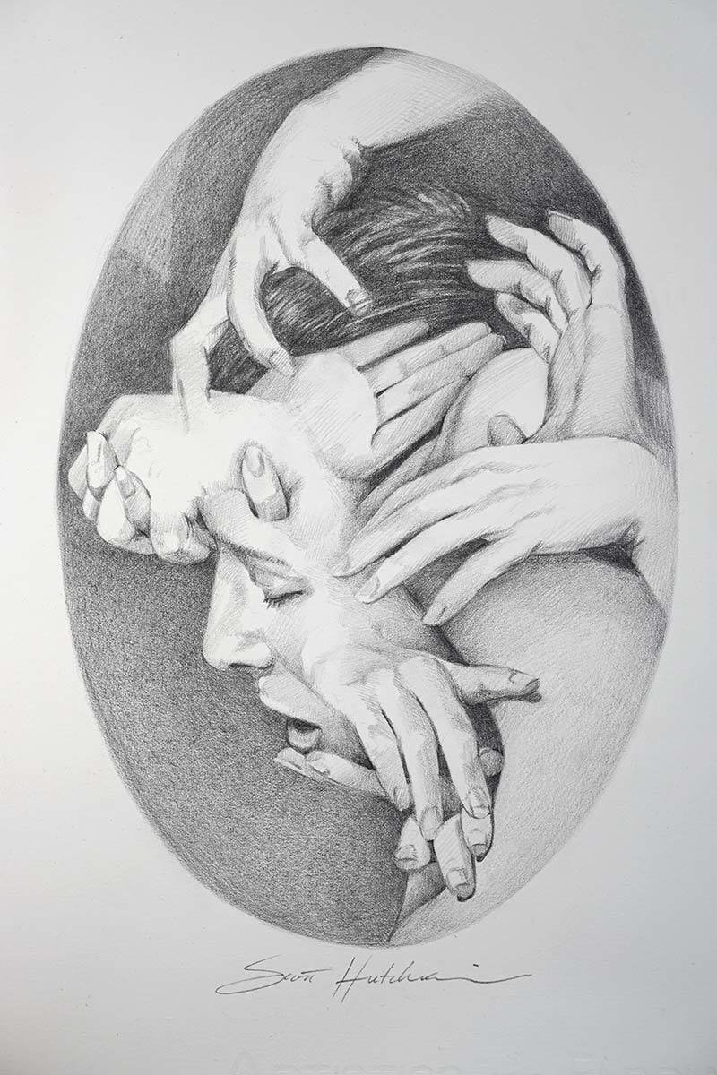Medusa - Original Drawing