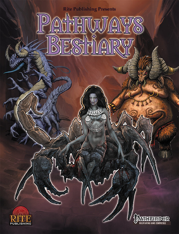 Pathways Bestiary (PFRPG)