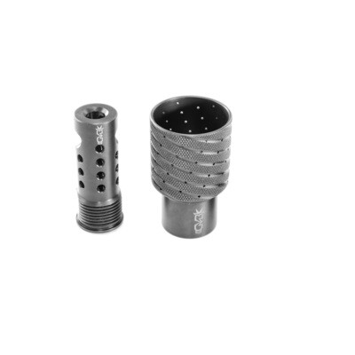 GEN5 Tactical Modular Ultra Low Concussion Shrouded Rifle Muzzle Brake (TMULC5)
