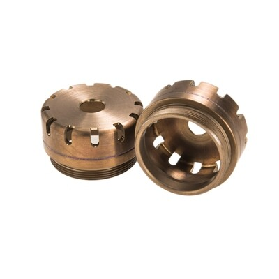 Threaded Muzzle Brake Cap for MG X and MOD X suppressors