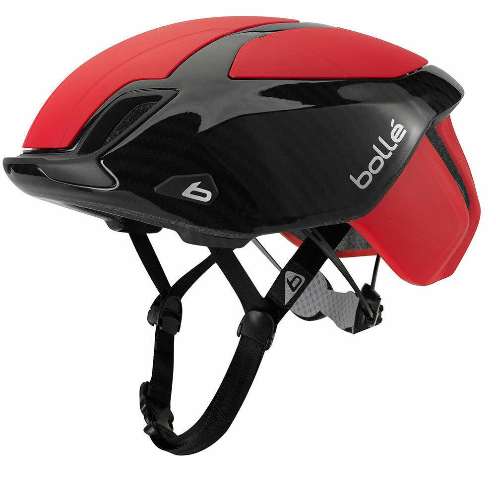 Bolle Premium Road Helmet Red/Carbon 54-58cm