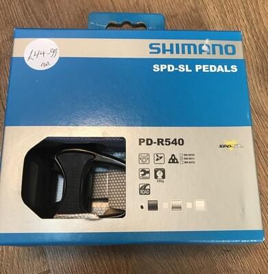 Shimano R540 SPD Road Pedals Black