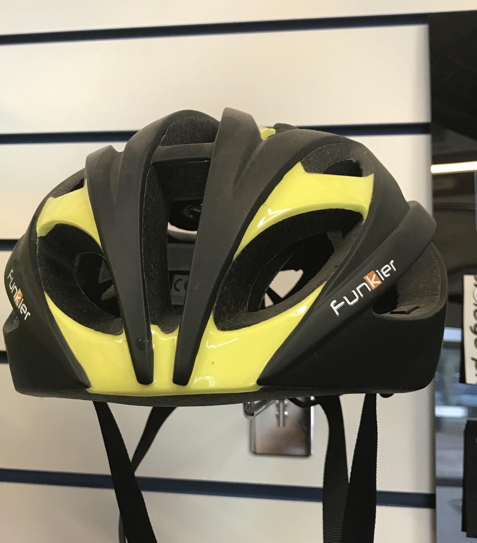 Funkier Tejat Road Elite Helmet Black/Neon 55-58cm