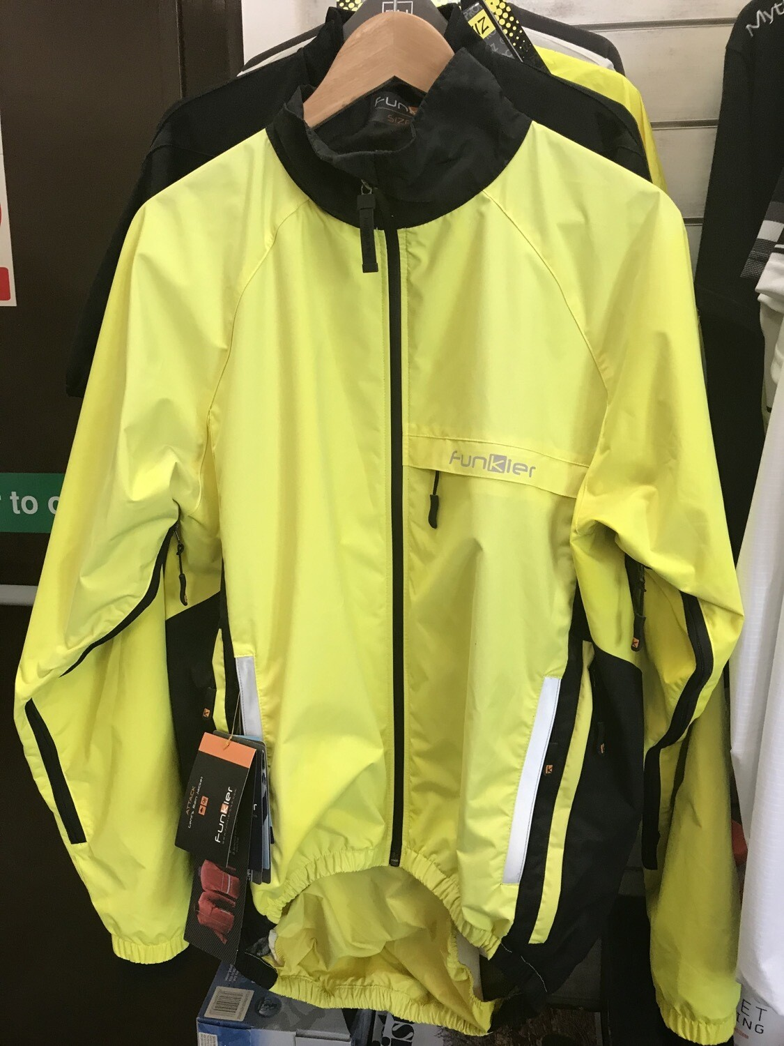 Funkier Attack Pro Rain Jacket Yellow (M)
