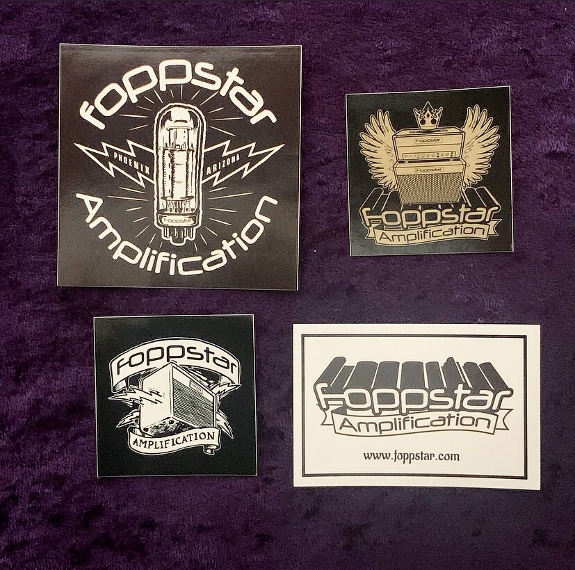 Foppstar 2020 Vinyl Sticker Pack