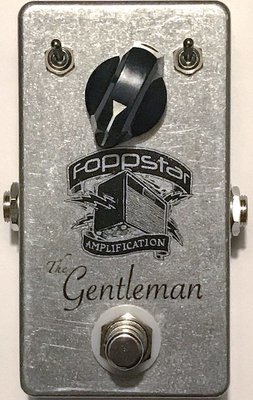 """Foppstar """"The Gentleman"""" Under-Drive Pedal (Discontinued)"""