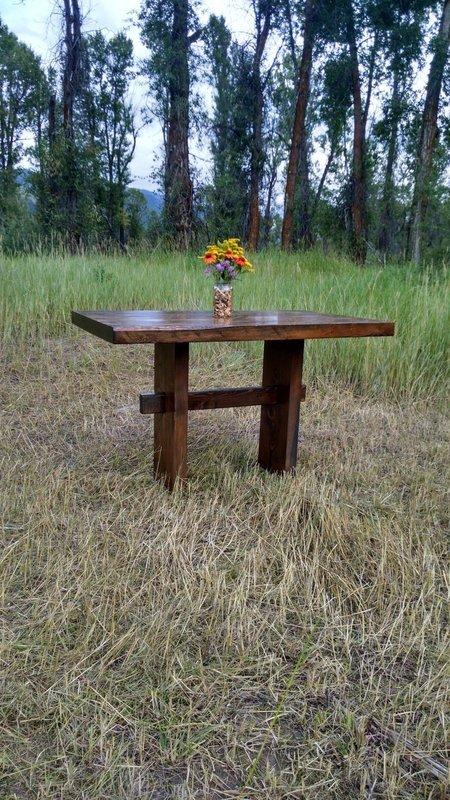 Mini Trestle Dining Table