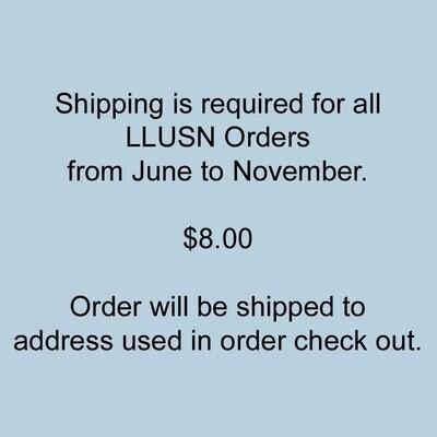 LLUSN Shipping