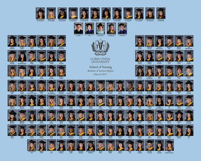 LLUSN 16 x 20 Class Group Composite Print