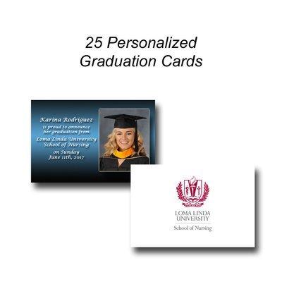 25 Graduation Announcement Cards