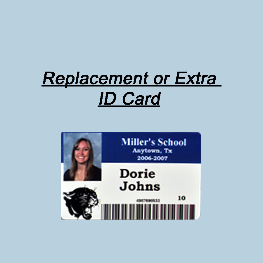 Replacement ID Card