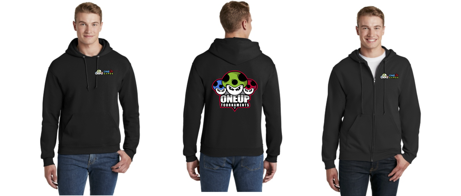 One Up Games Hoodie & Zip Up