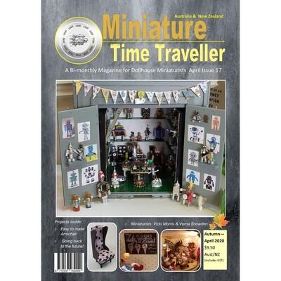 APRIL 2020 Miniature Time Traveller Magazine - Single copy. P&P extra.