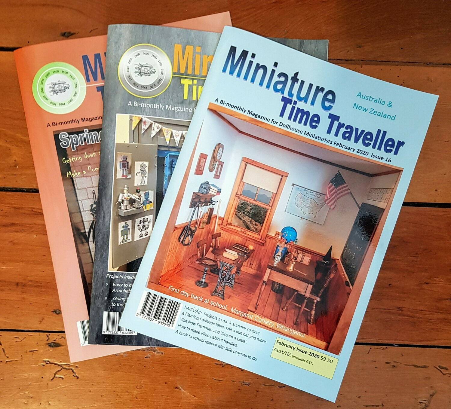 Miniature Time Traveller Magazine - SAVE 20% with an Annual subscription - 6 Copies. Postage added at checkout.