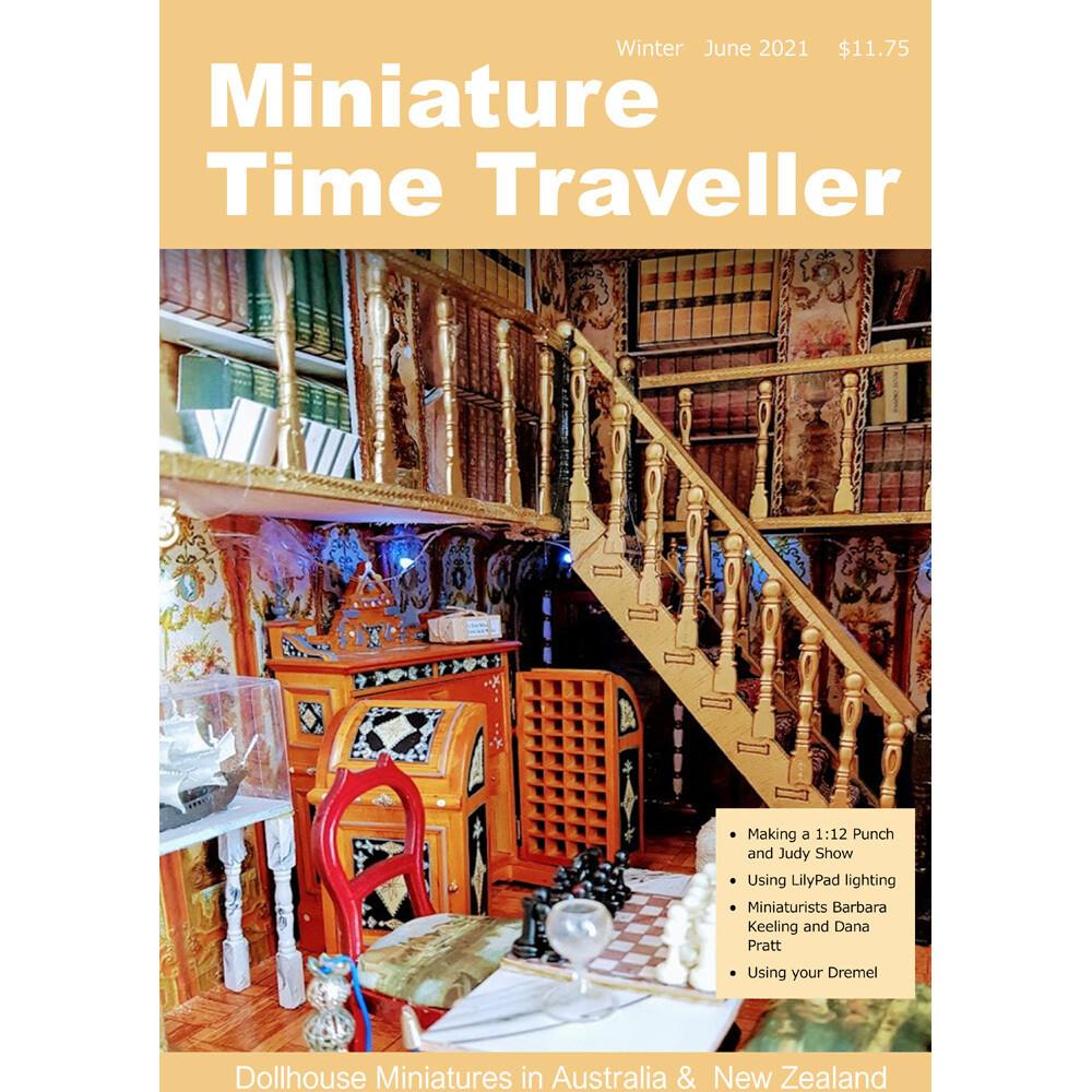 JUNE 2021 Miniature Time Traveller Magazine - Issue 24 - Single copy. P&P extra.