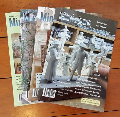 SPECIAL 2 YEAR SUBSCRIPTION OFFER! Miniature Time Traveller Magazine. SAVE 20% with an Annual subscription AND receive free gift valued at $45.  12 Copies (taxes and P&P included)