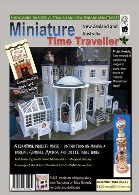 December 2018 Issue - Miniature Time Traveller Magazine - Single copy only. Postage extra.