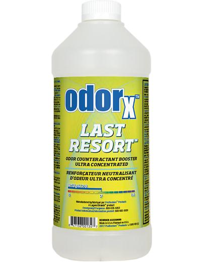 ODORx Last Resort - QT
