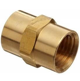 Brass Coupler - 3/8