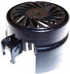 Vac Motor Cover - Black Plastic