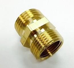 Brass Garden Hose Adapter - M x  M
