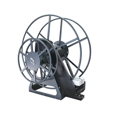 High Profile Electric Vacuum Hose Reel - Sapphire Scientific