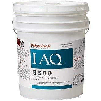 IAQ 8500 Black HVAC Insulation Sealer - PL