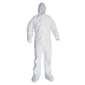 Microporous Hazard Protective Suit (Select Size)