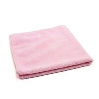 Pink Microfiber Towel  | 16X16