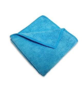 Blue Microfiber Towel    16X16