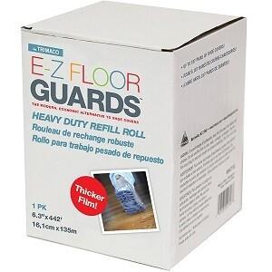 E-Z Floor Guard Refill Roll - 1.38 mil