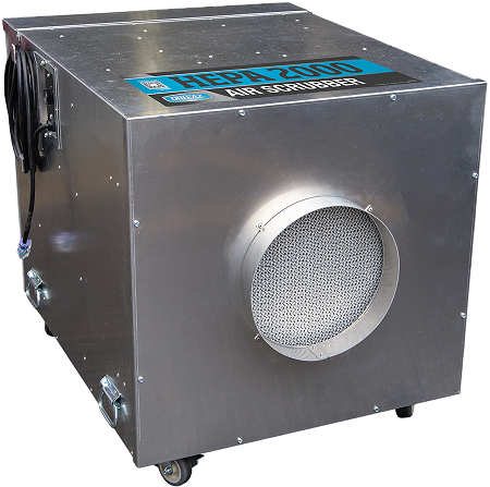 HEPA 2000 Air Scrubber by Drieaz - 2000cfm
