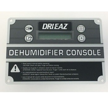 Drieaz Micro Control Panel Assembly