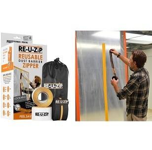RE-U-Zip Dust Barrer Starter Kit