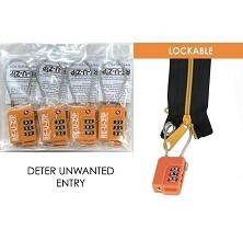 RE-U-Zip Cable Combo Lock Pack (4 Pack)