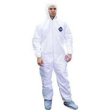 DuPont™ Tyvek® 400 Coverall Suits (Case 25) - Large